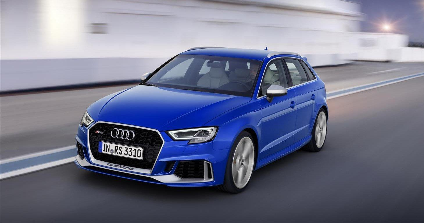 Audi RS3 25 YearRS anteriore