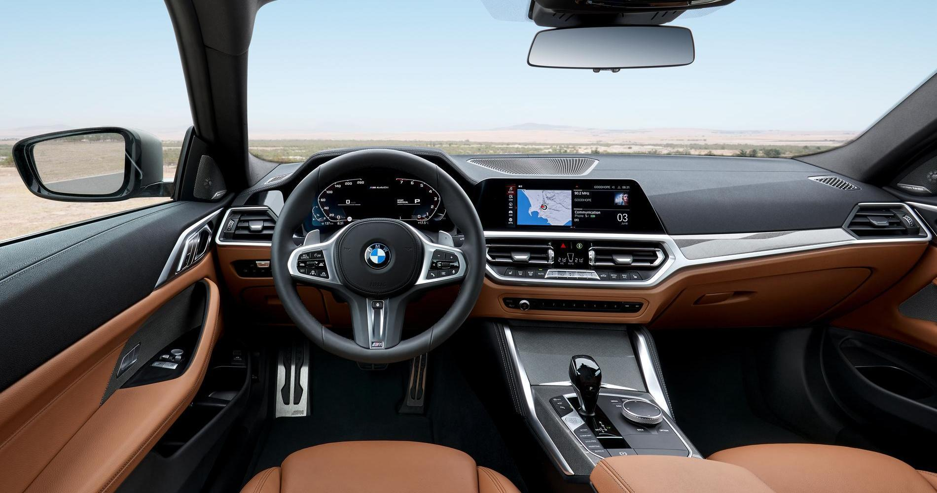 BMW 440i xDrive plancia interni