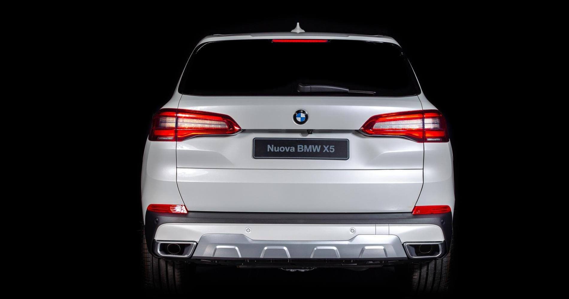 BMW X5 Timeless Edition posteriore