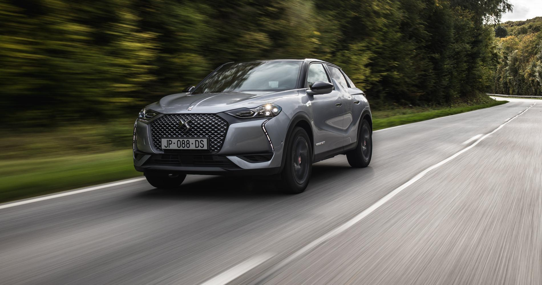ds3 crossback e tense