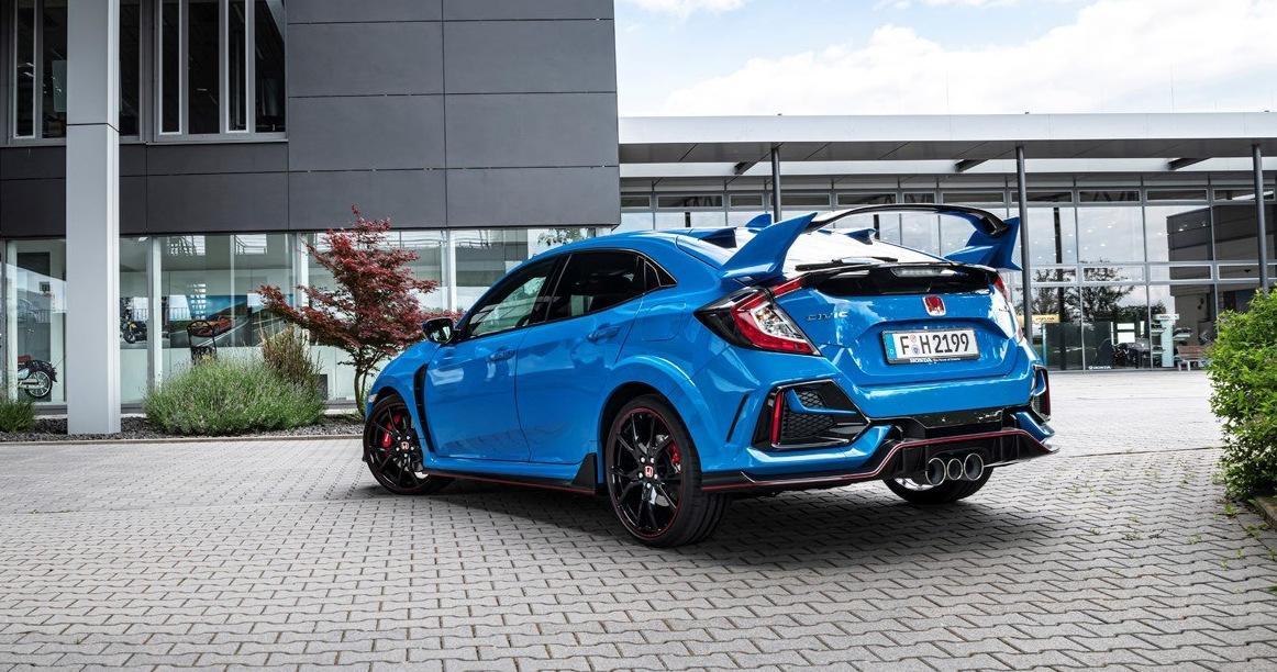 Honda Civic Type R 2020: Limited Edition e Sport Line.
