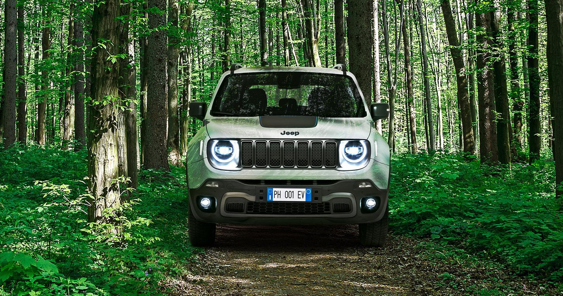 Jeep Renegade xe frontale