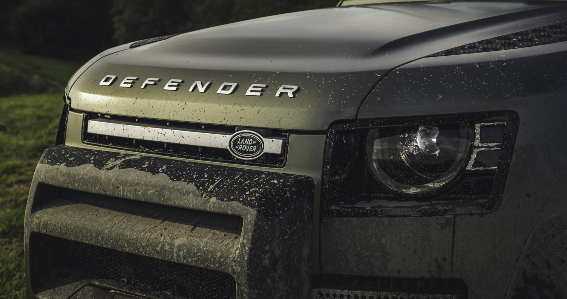 Land Rover Defender led fari