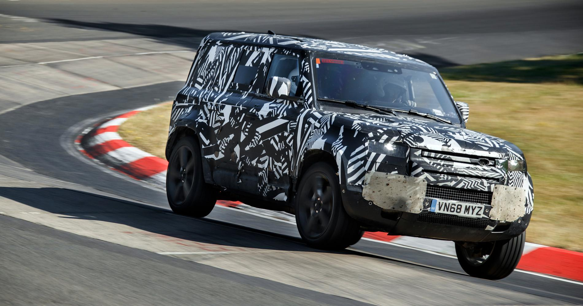 Land Rover Defender nurburgring