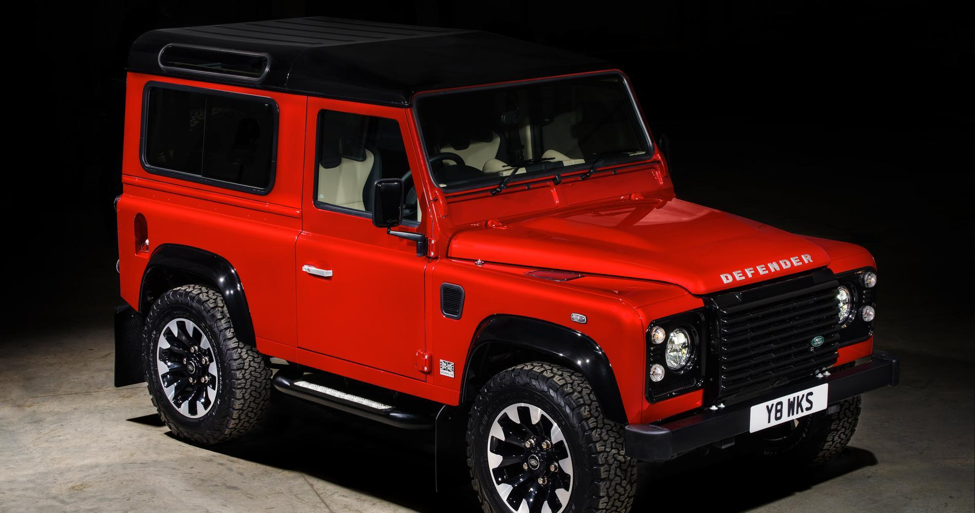 Land Rover Defender vecia 2