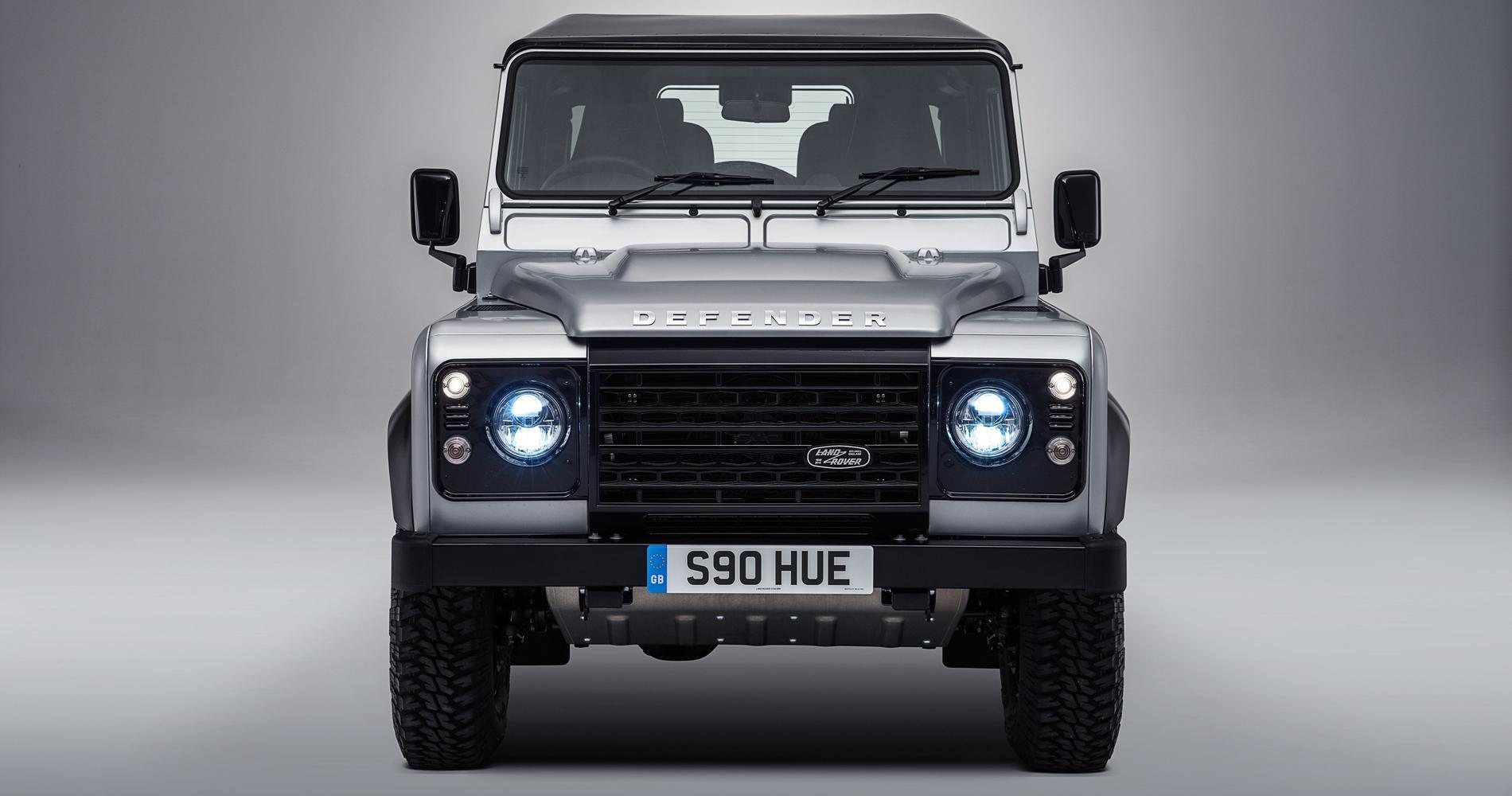 Land Rover Defender vecia