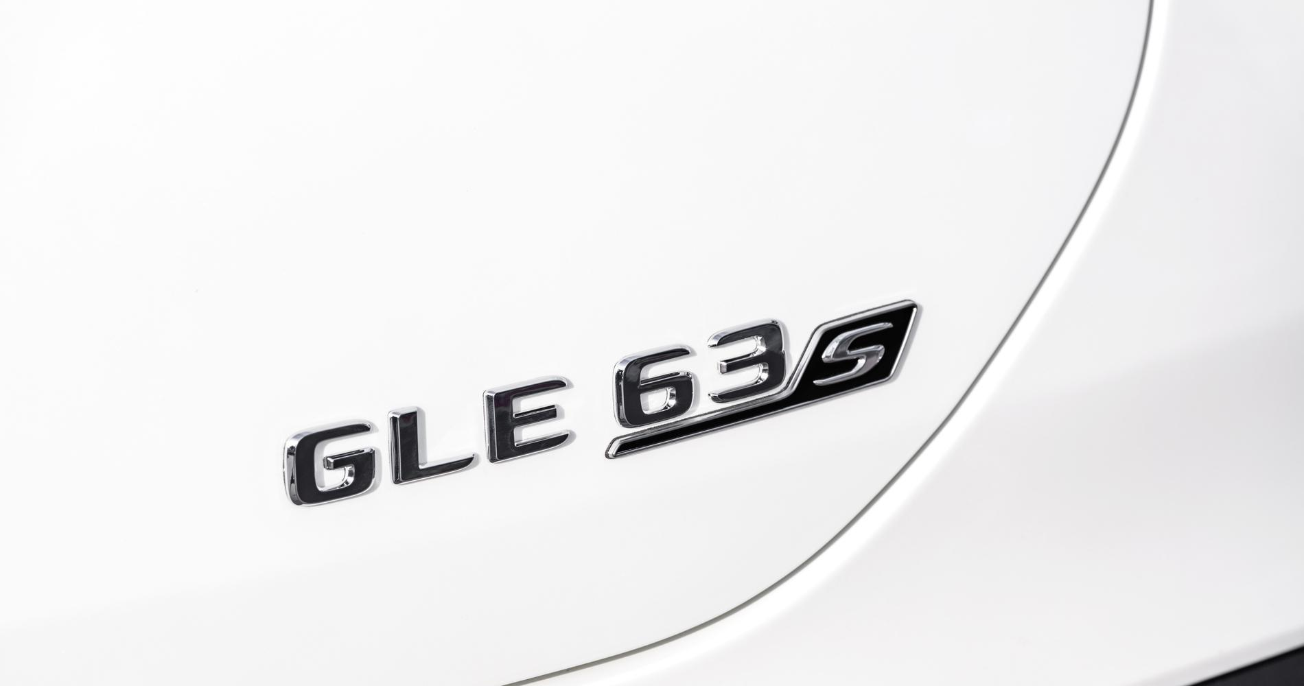 Mercedes-AMG GLE 63 4MATIC Coupé badge
