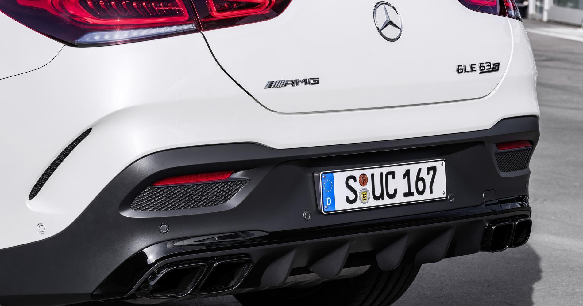 Mercedes-AMG GLE 63 4MATIC Coupé estrattore