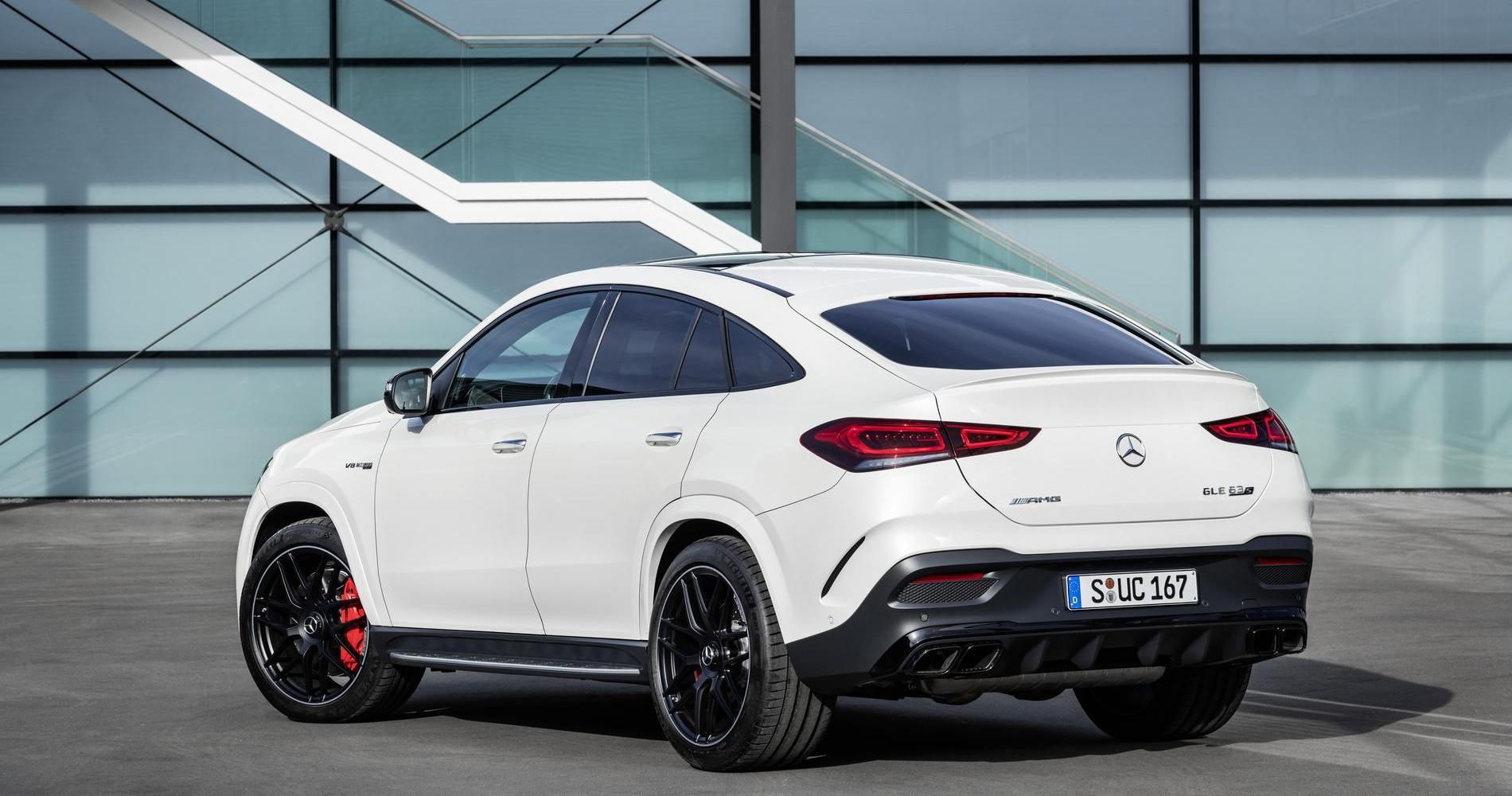 Mercedes-AMG GLE 63 4MATIC Coupé posteriore