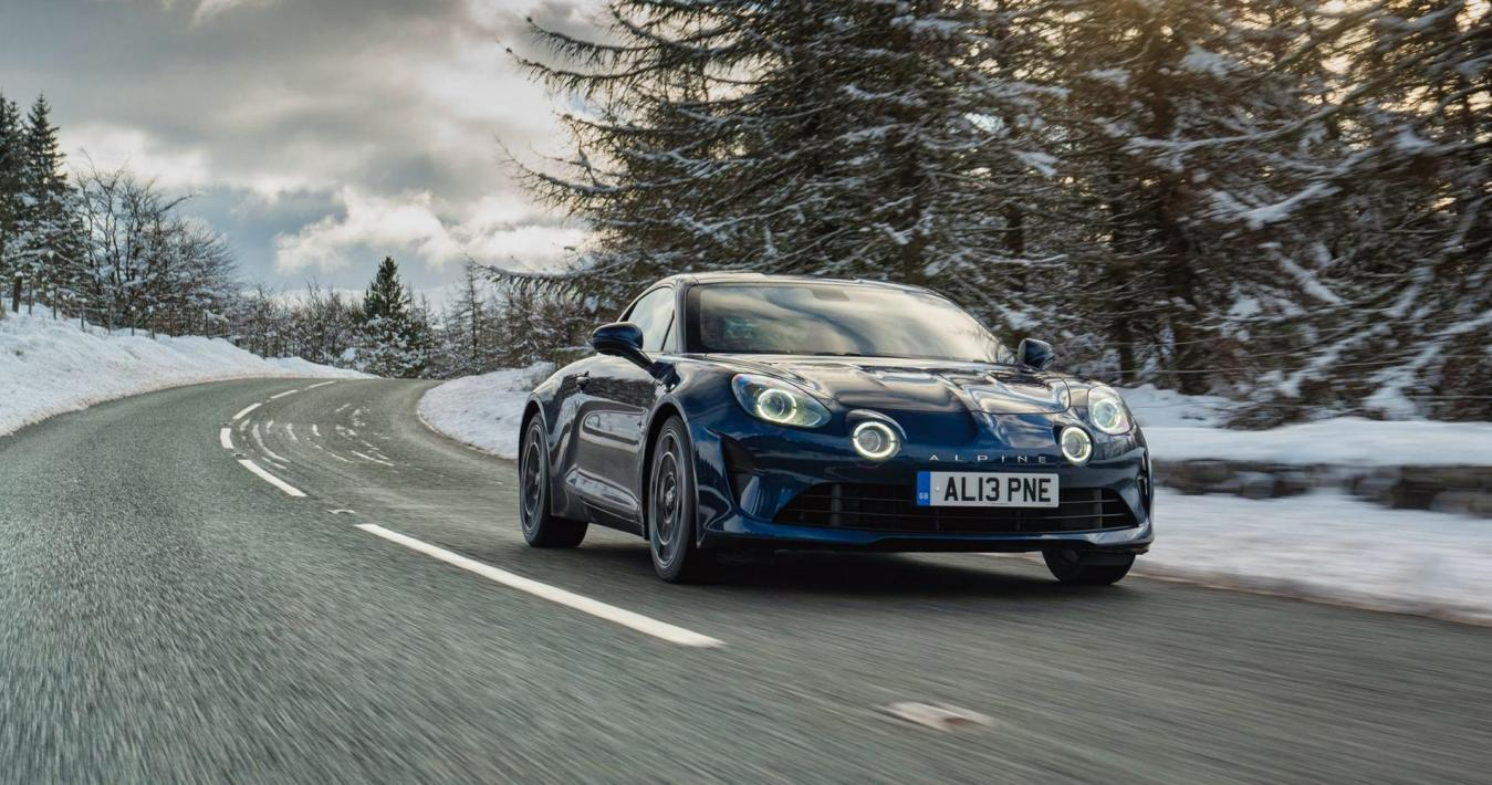 Alpine Legende GT Bleu