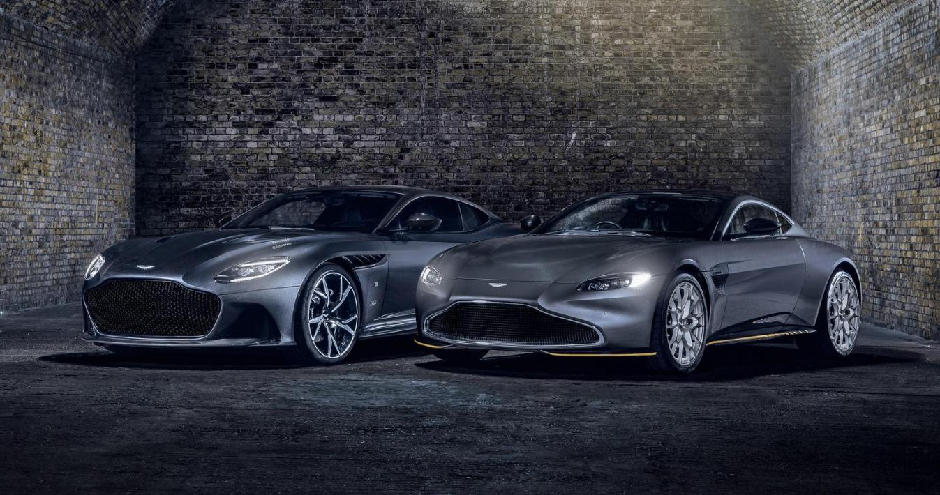 Aston Martin DBS Superleggera e Vantage 007 Edition