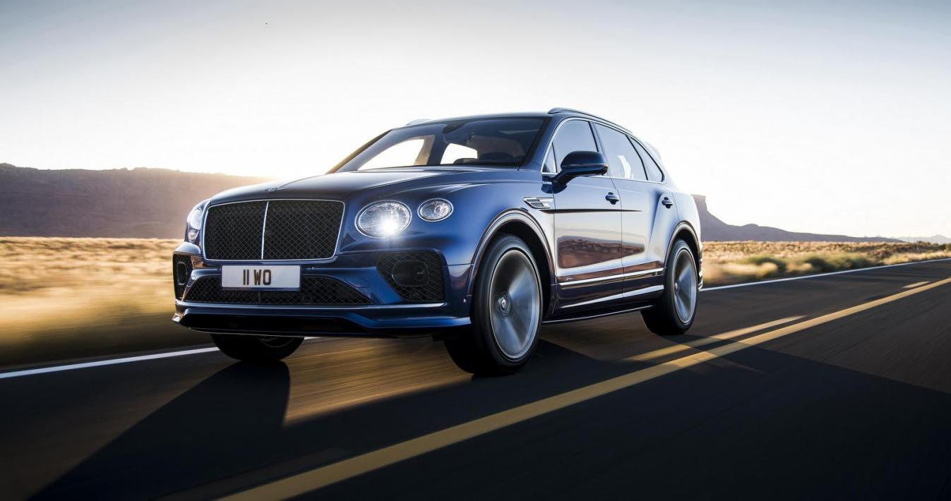 Bentley Bentayga Speed 2
