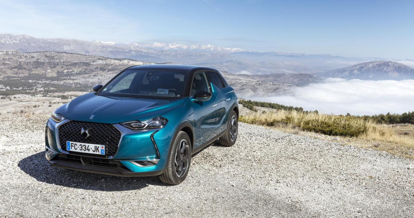 DS3 Crossback tre quarti anteriore