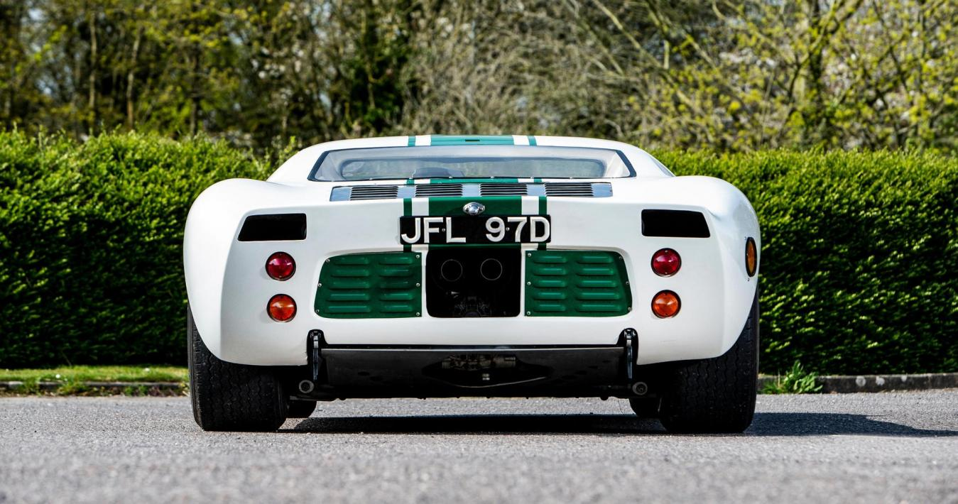Ford GT40posteriore