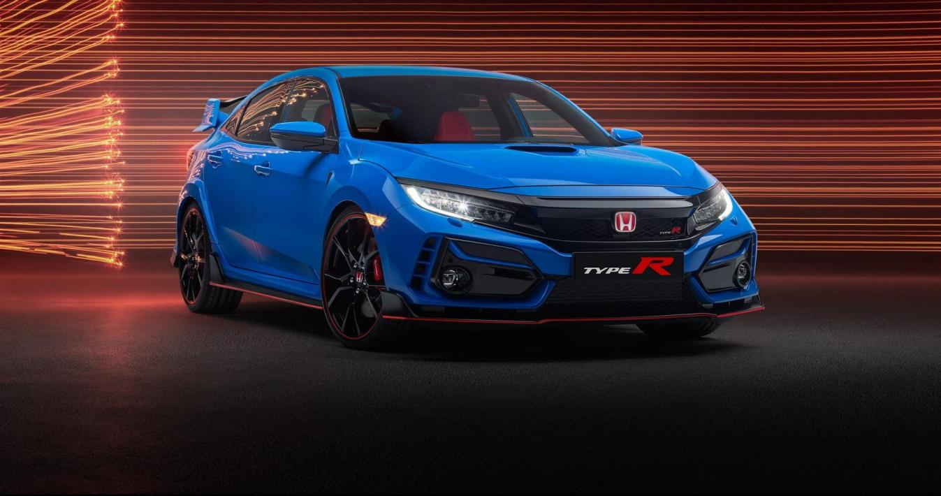 Honda Civic Type R rstyling 2020 blue