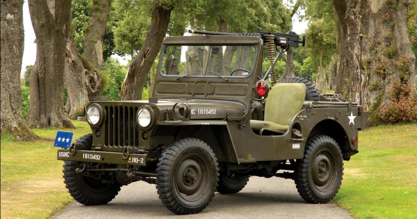 Storia Jeep Willys